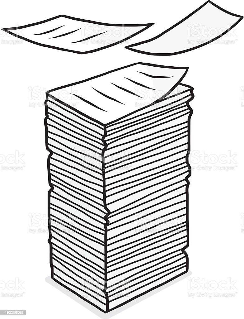 paper stack clipart - photo #35
