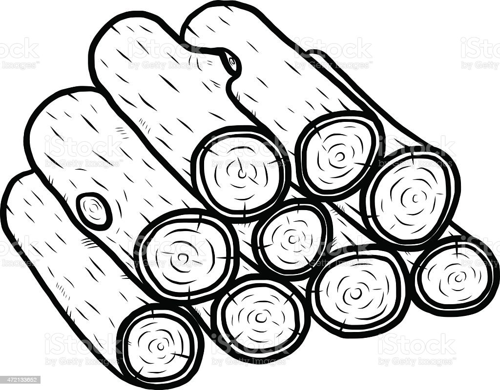 Fire Wood Coloring Pages Photo14