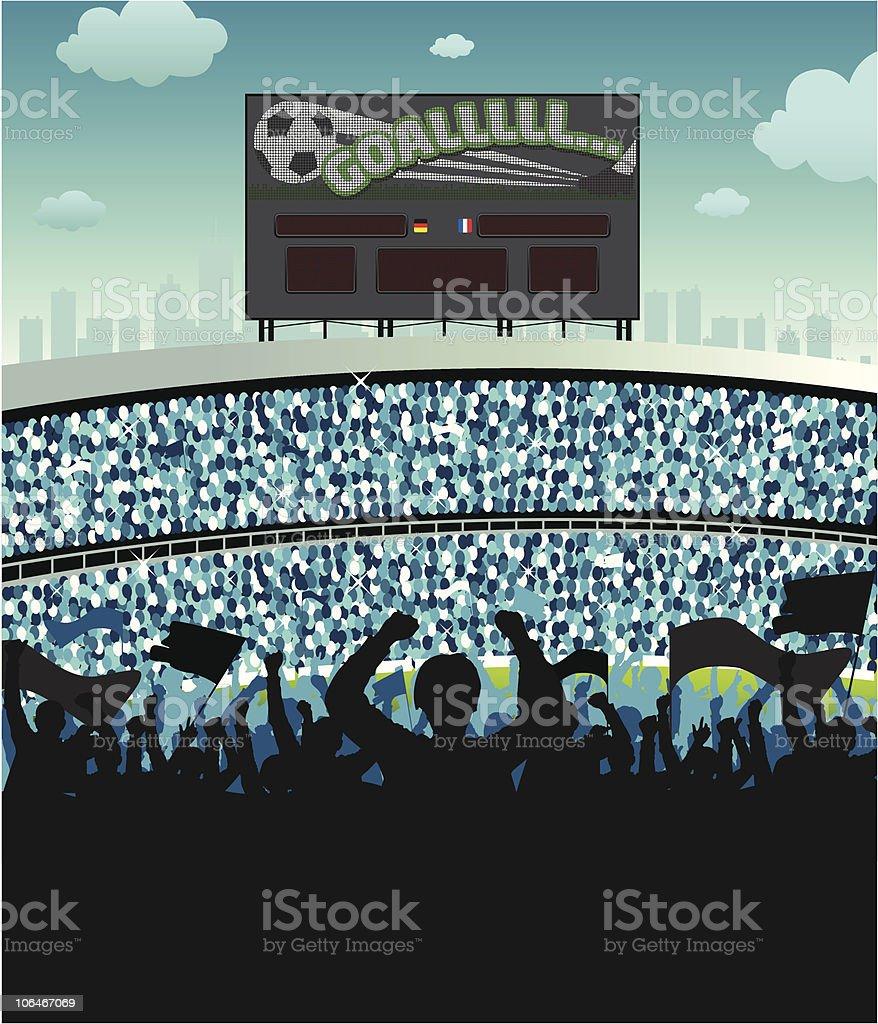 Stadium Ambient vector art illustration