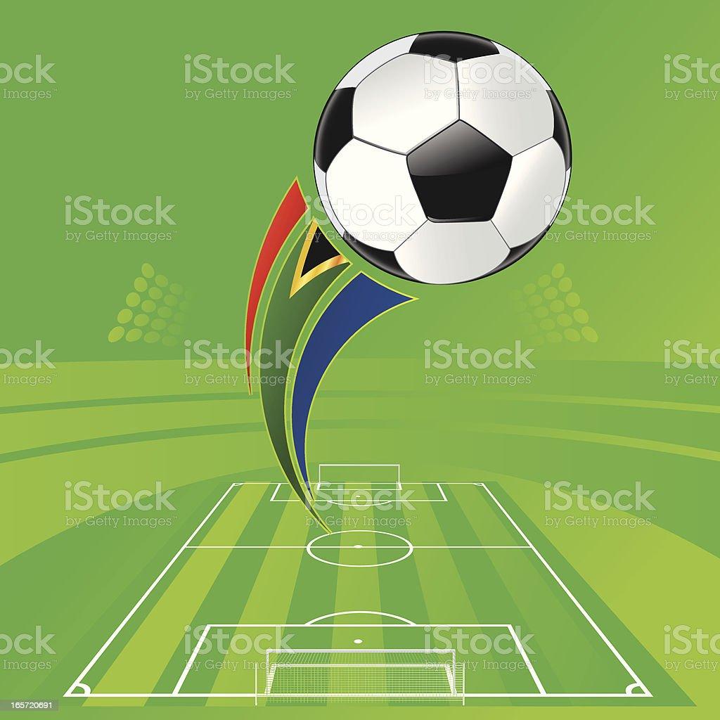 WM Stadium Soccer vector art illustration