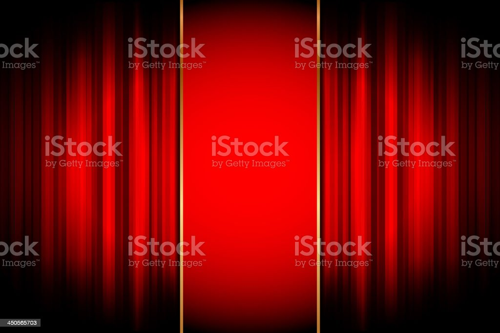Stage background royalty-free stock vector art