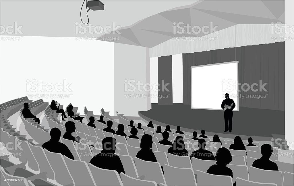 Stage Craft vector art illustration