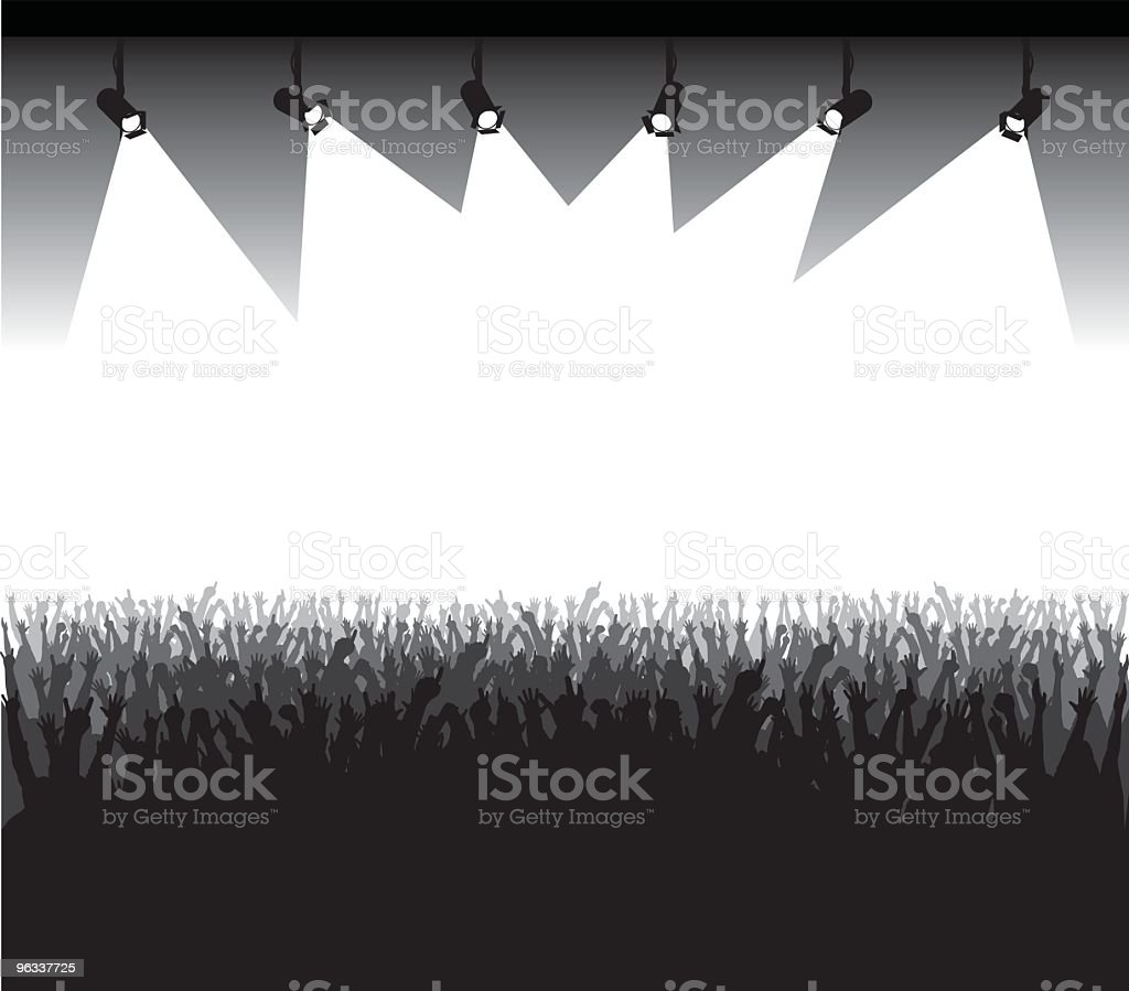 Stage Presentation vector art illustration