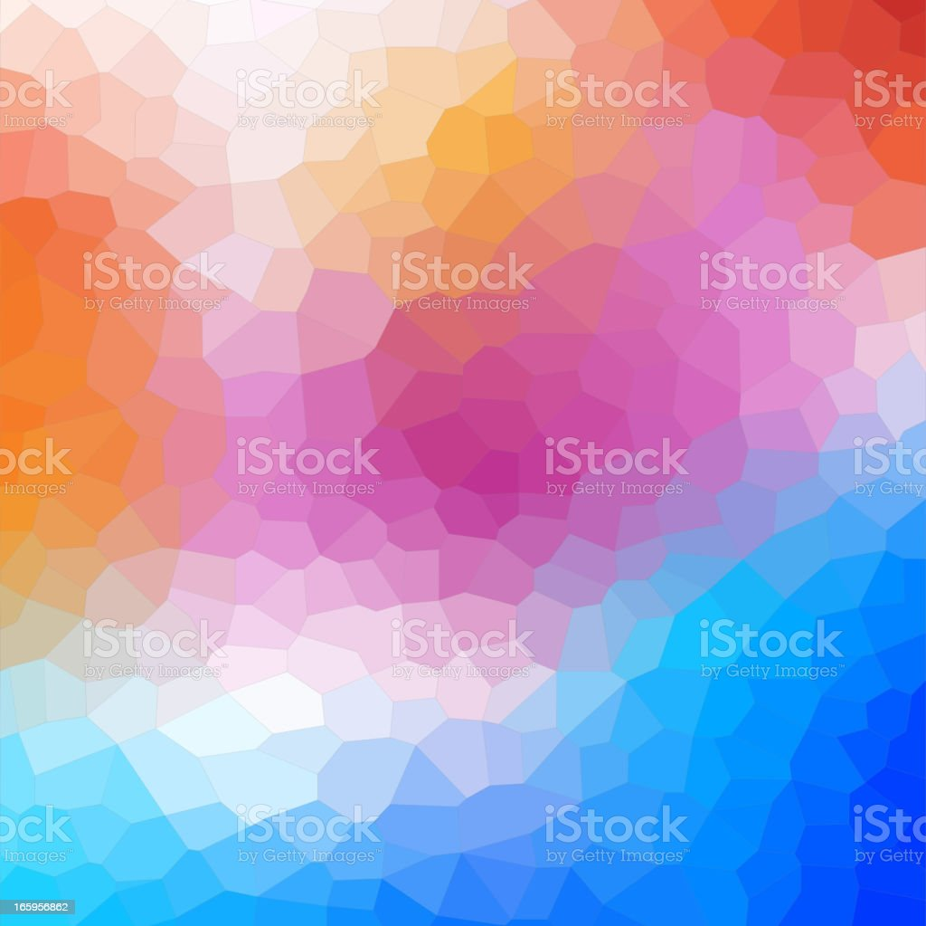 Stained Glass Background vector art illustration
