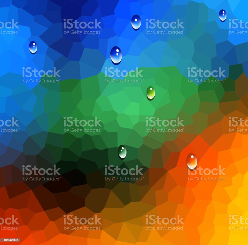 Stained Glass Background royalty-free stock vector art