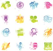 Stains Icons - Arts