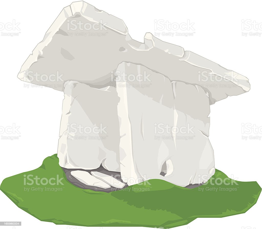Standing Stone royalty-free stock vector art