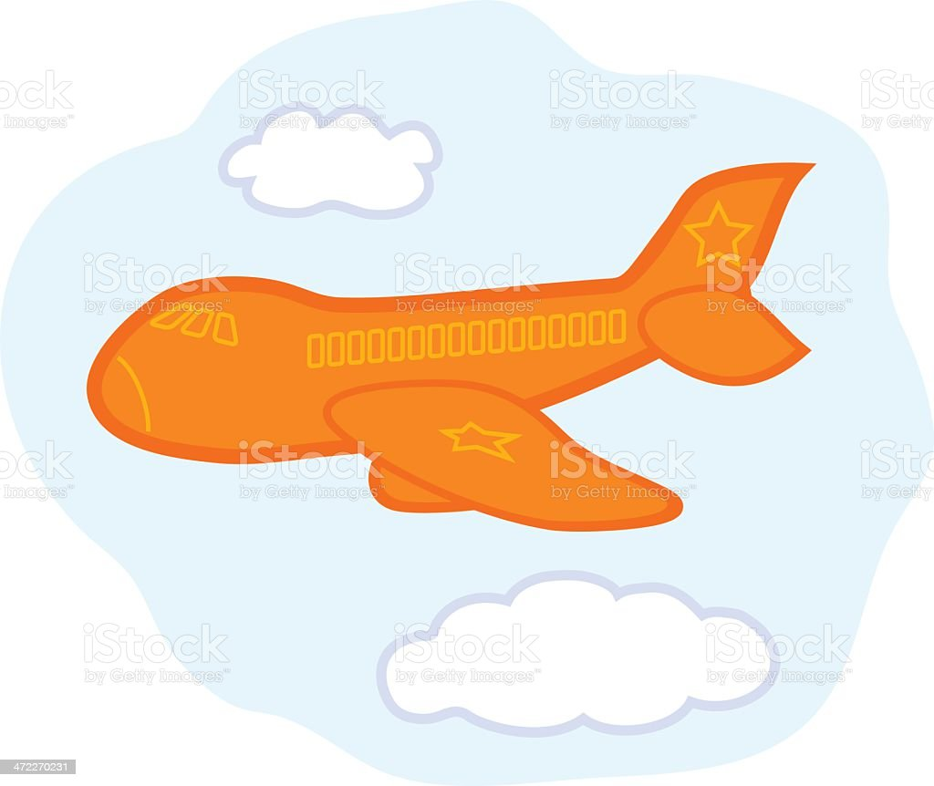 Star Airlines royalty-free stock vector art
