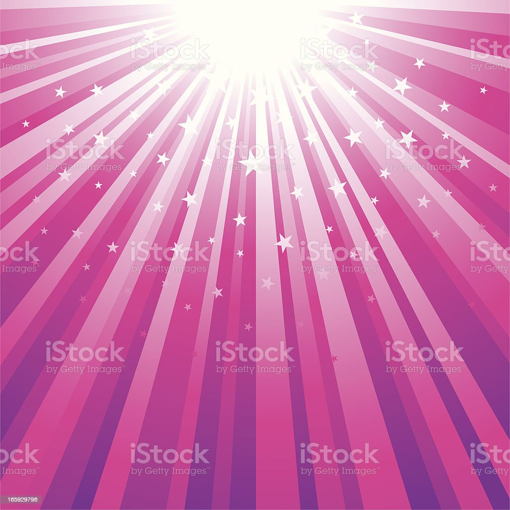 Star burst and sunbeam background royalty-free stock vector art