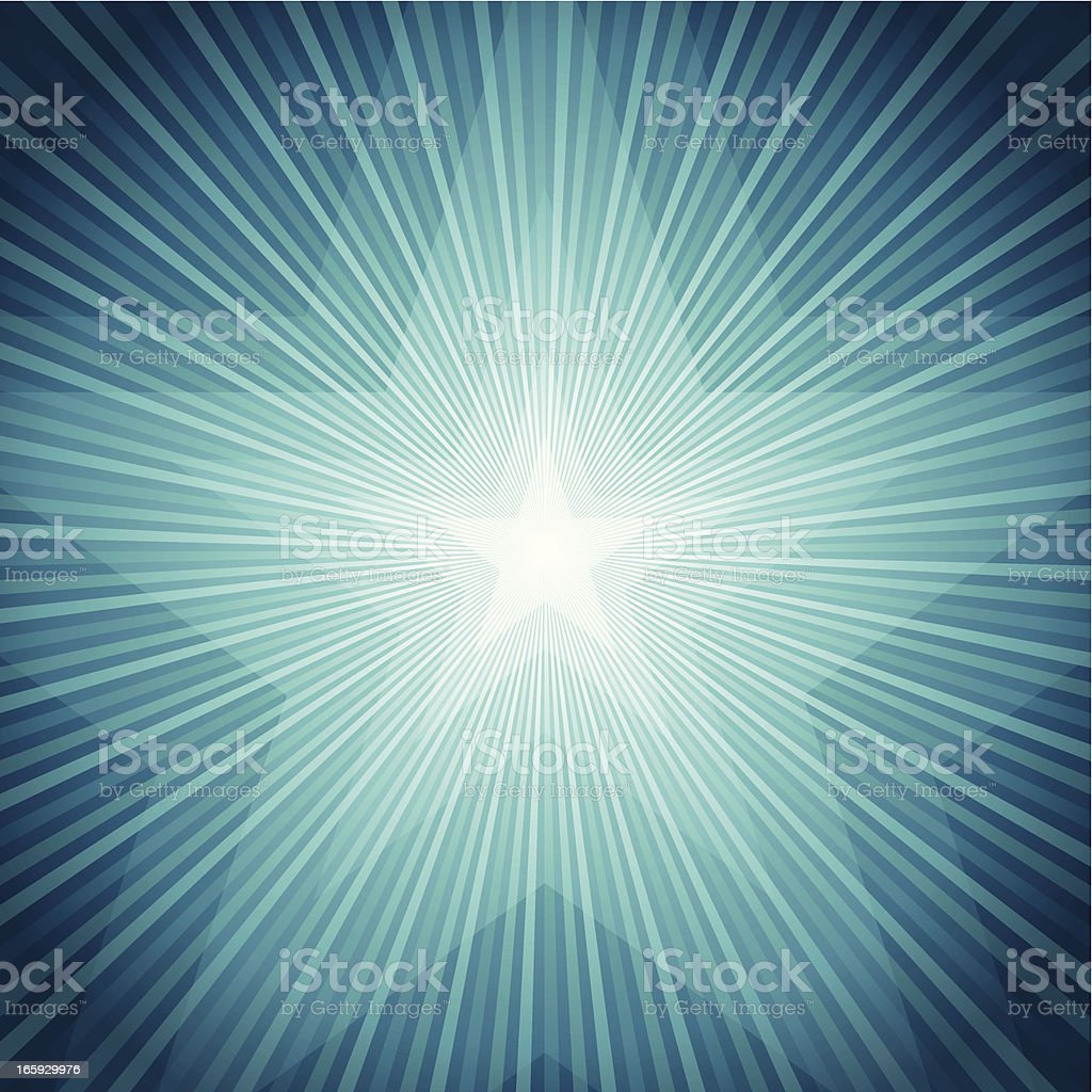 Star Burst background royalty-free stock vector art