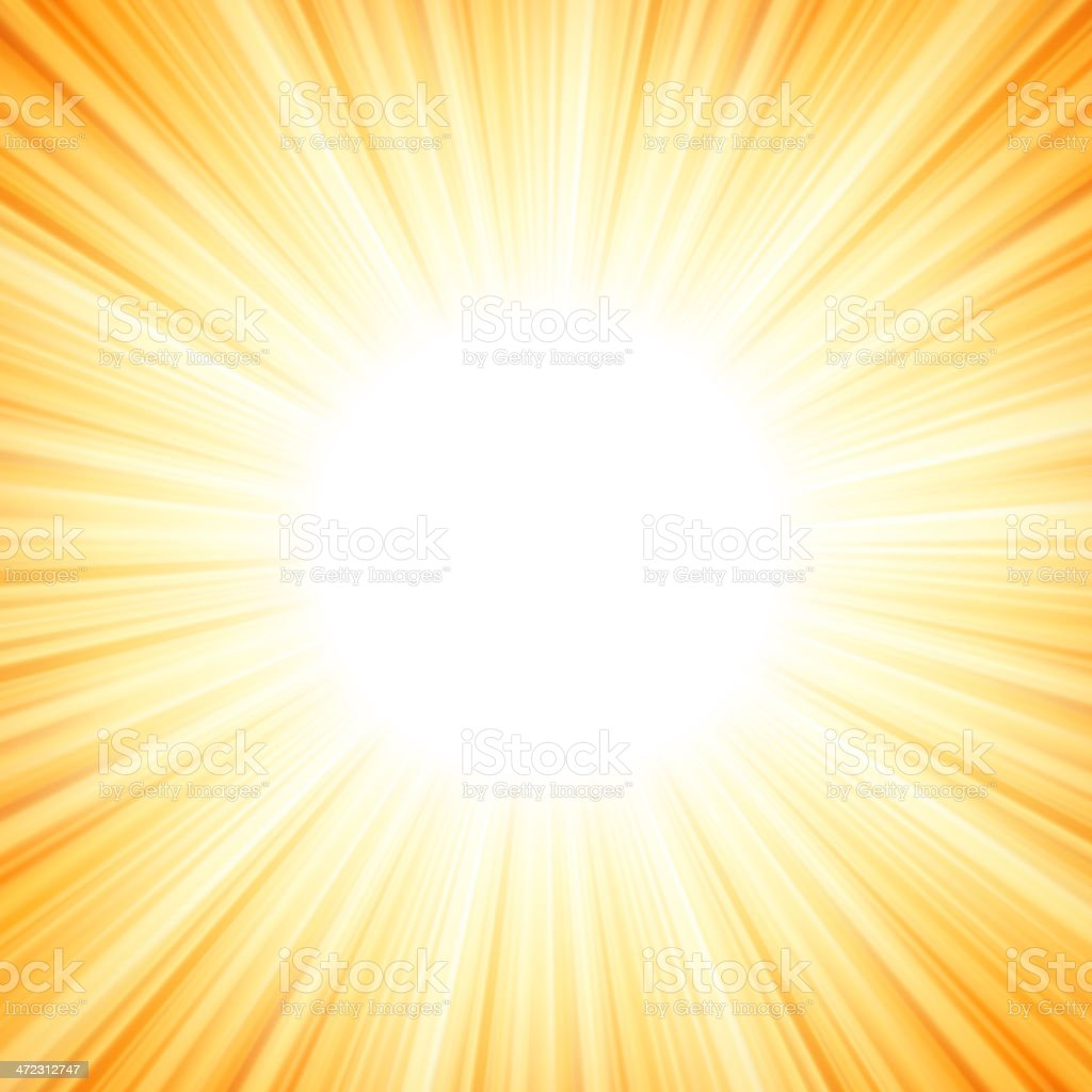 Star burst red and yellow fire. EPS 8 royalty-free stock vector art