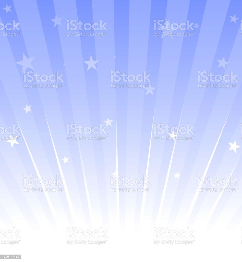 star burst vector art illustration