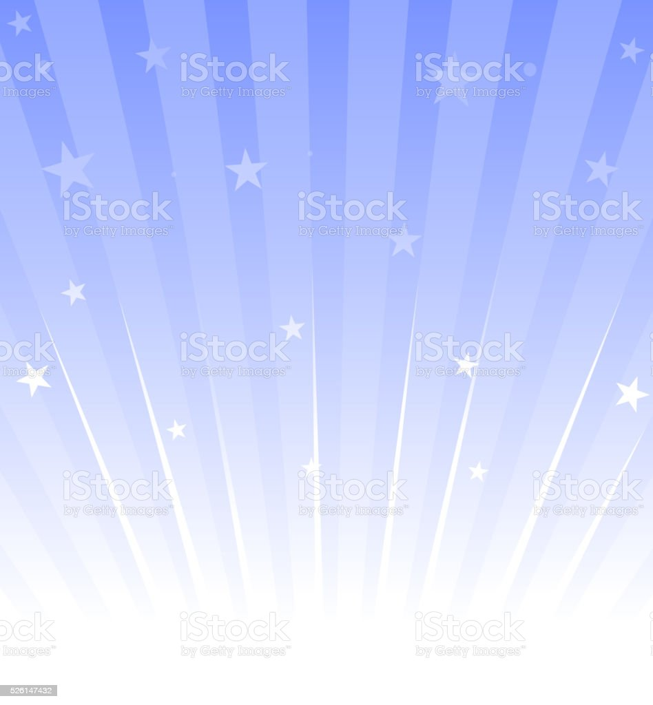 star burst vector art illustration