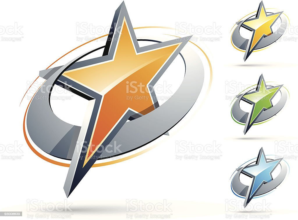 Star design royalty-free stock vector art