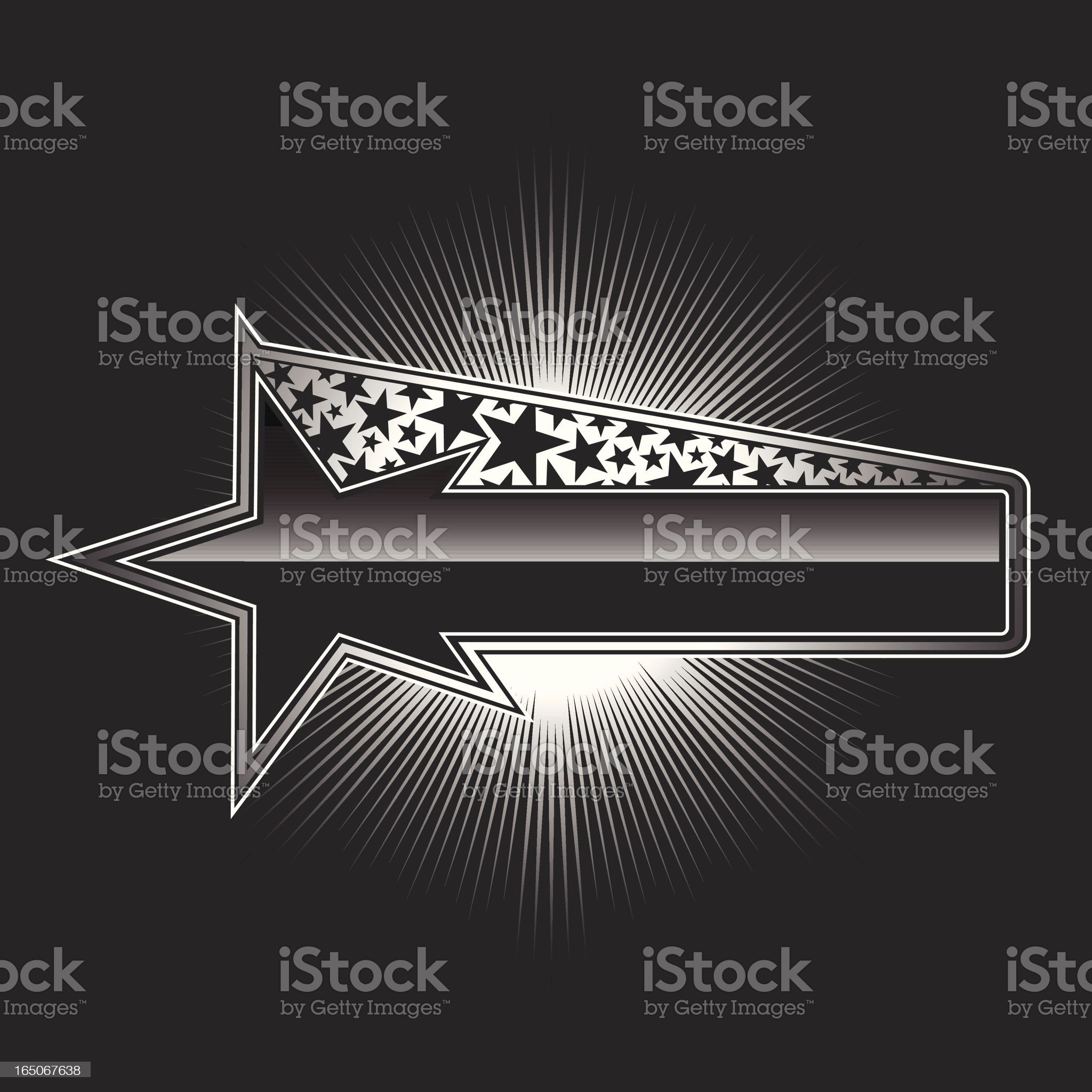 star light banner royalty-free stock vector art