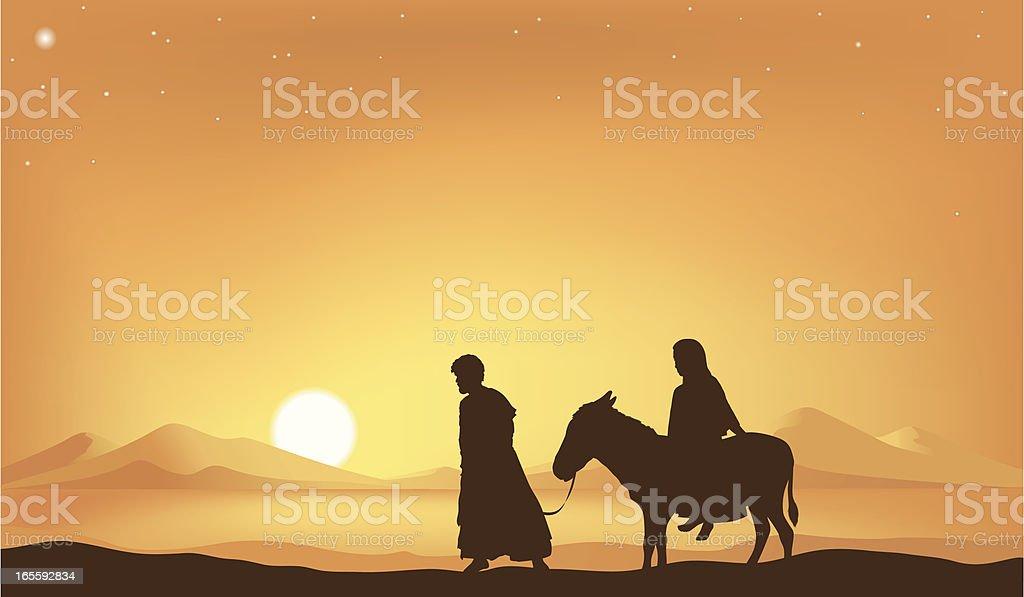 Star of Bethlehem royalty-free stock vector art