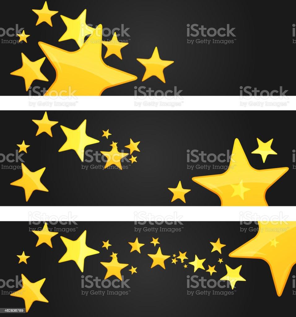 Star Rating Banner - Illustration vector art illustration