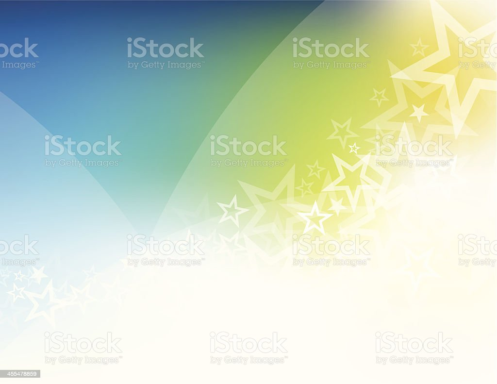 Star shape abstract royalty-free stock vector art