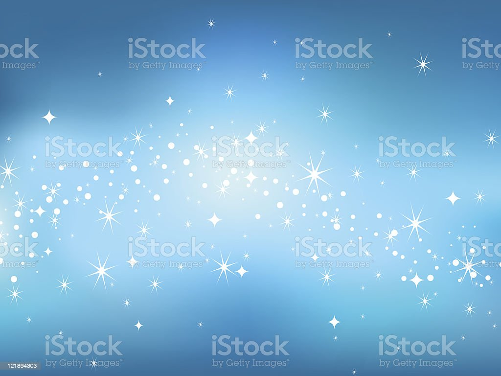 Star sky background. Vector illustration. royalty-free stock vector art