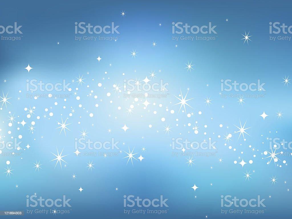Star sky background. Vector illustration. vector art illustration