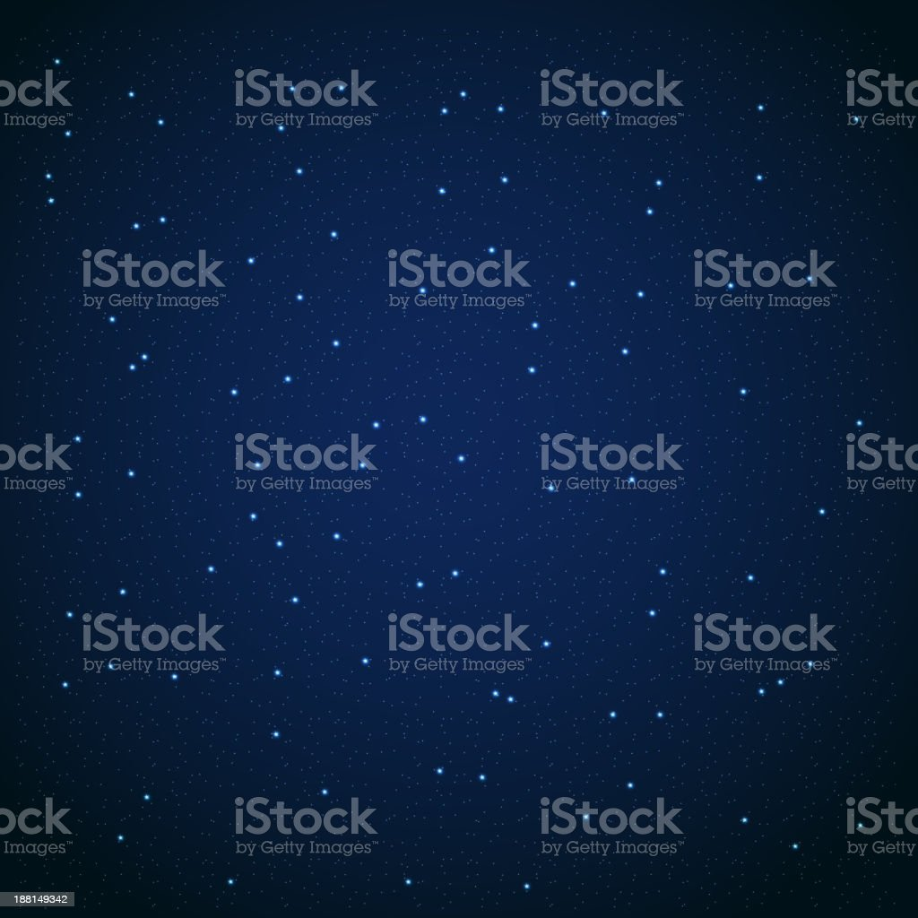 Star sky vector illustration background royalty-free stock vector art