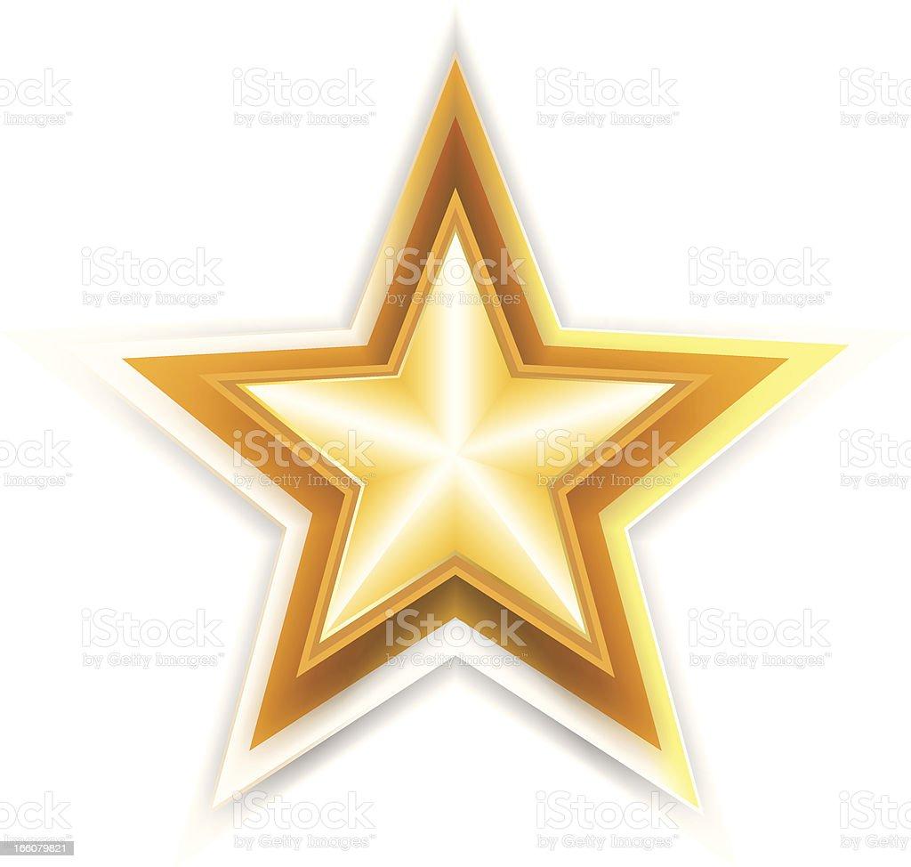 Star vector art illustration