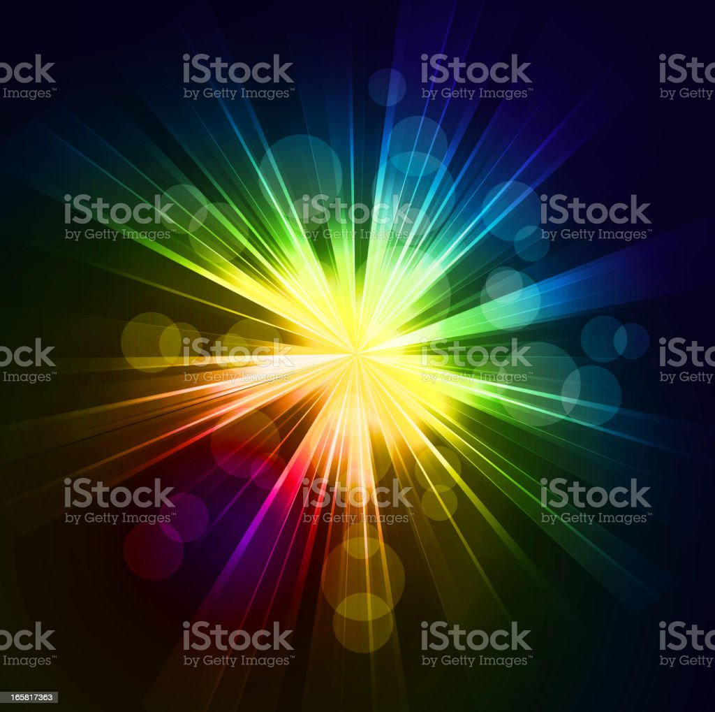 Starburst Backgrounds royalty-free stock vector art