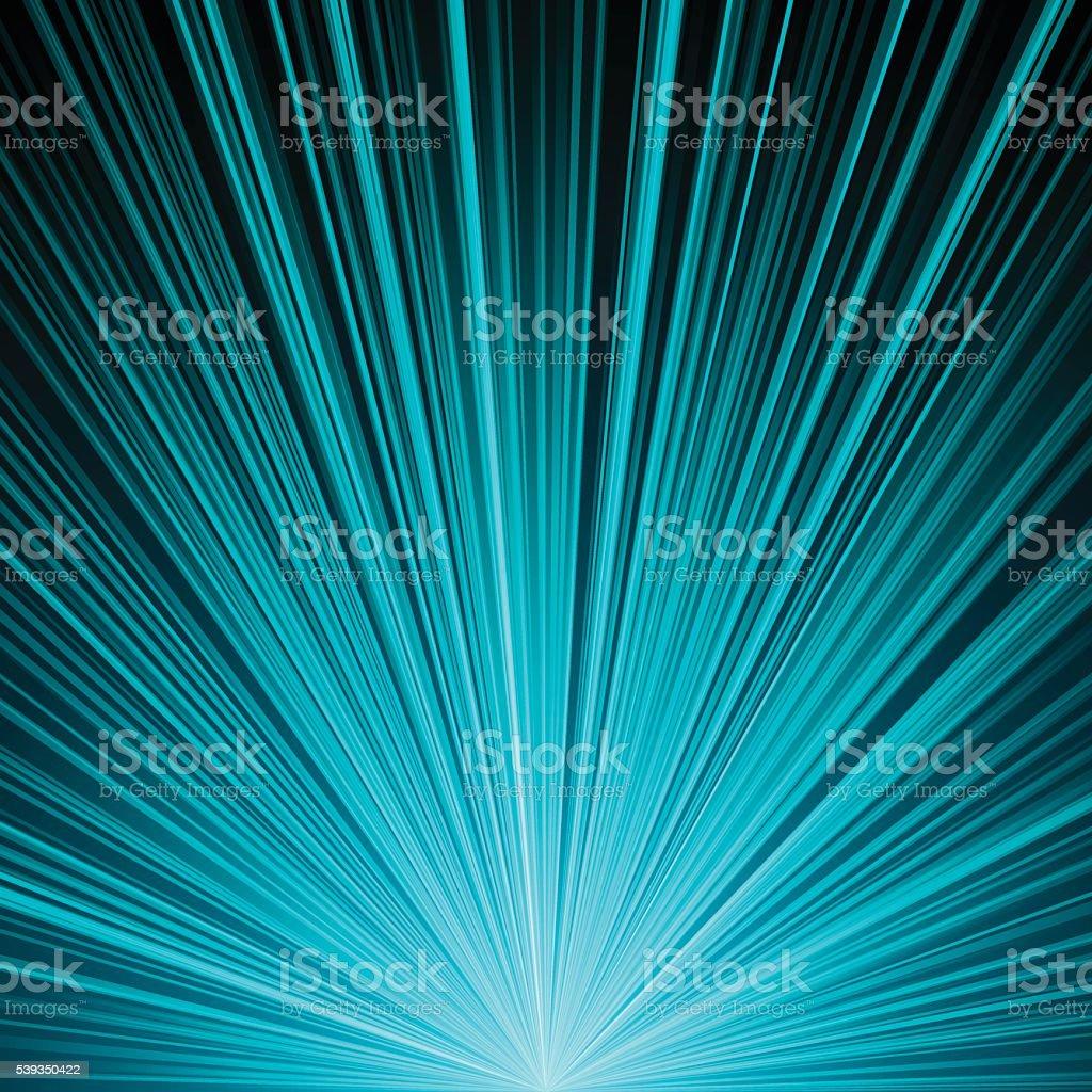 Starburst Glow Background vector art illustration