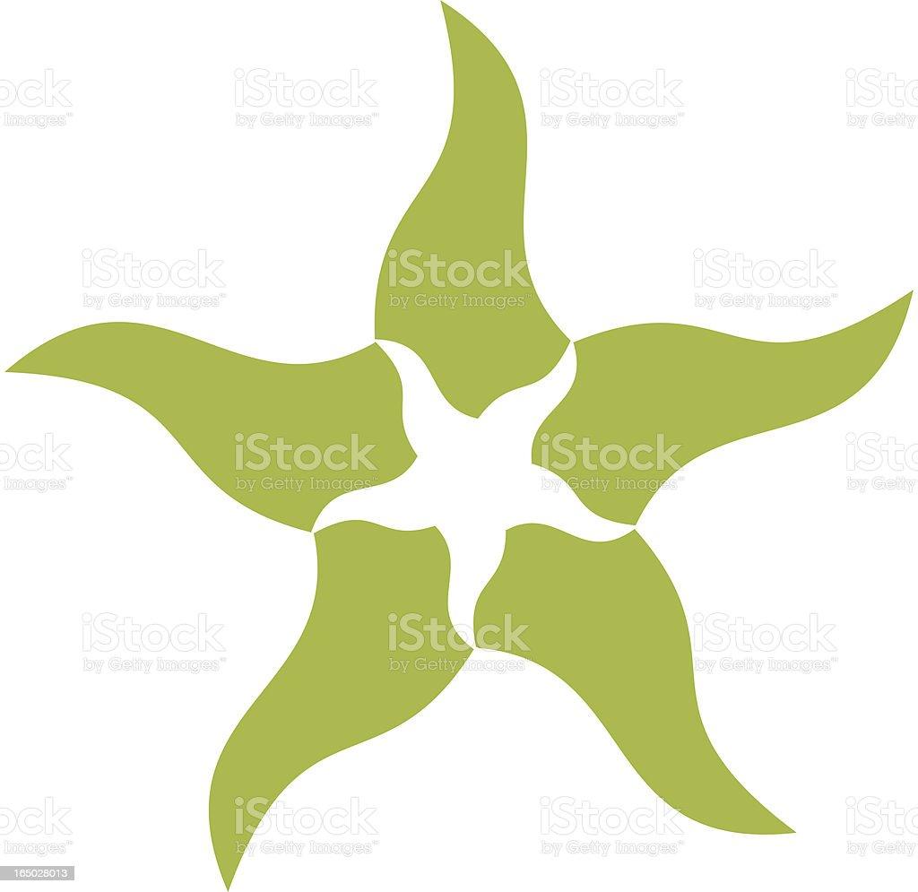 Starfish Star vector art illustration