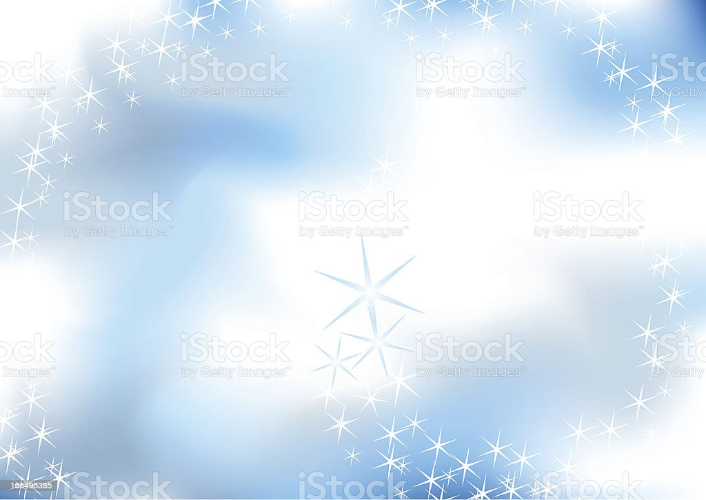 Stars in the Sky royalty-free stock vector art