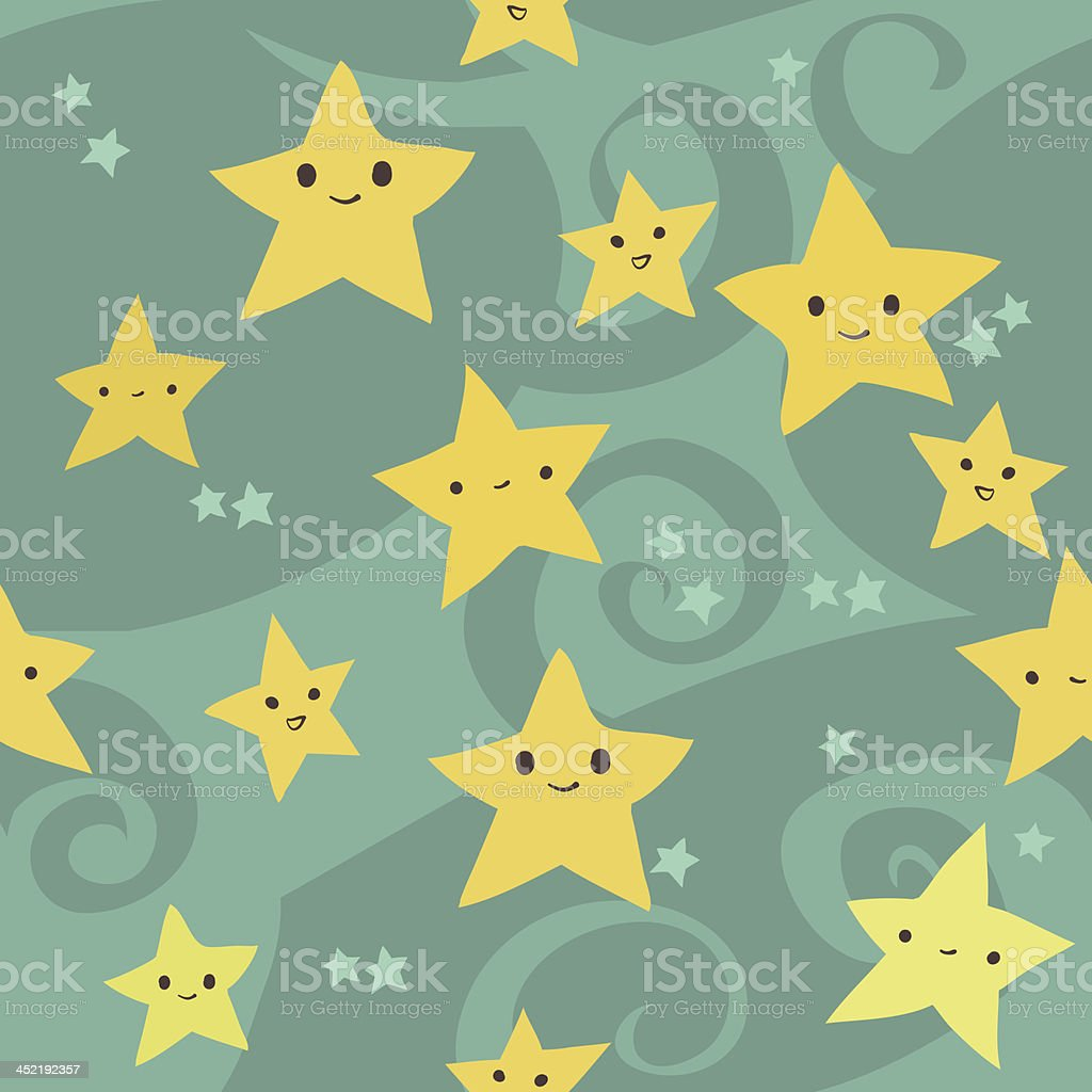 Stars pattern royalty-free stock vector art