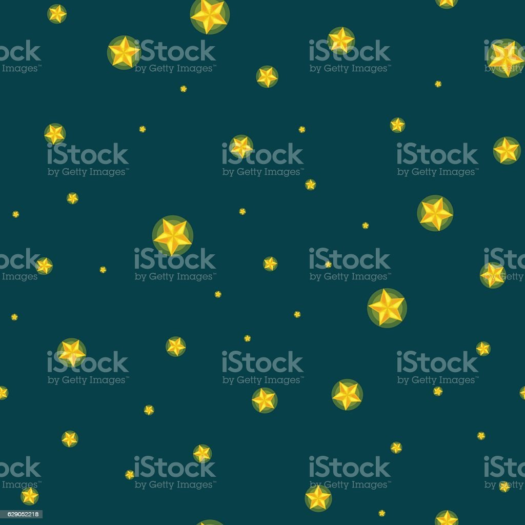 stars seamless pattern for christmass decorationvector illustration, dark sky at vector art illustration