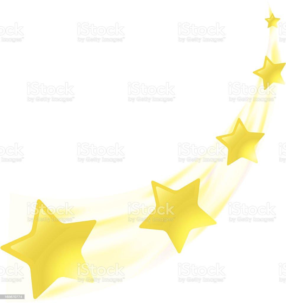 stars yellow vector art illustration