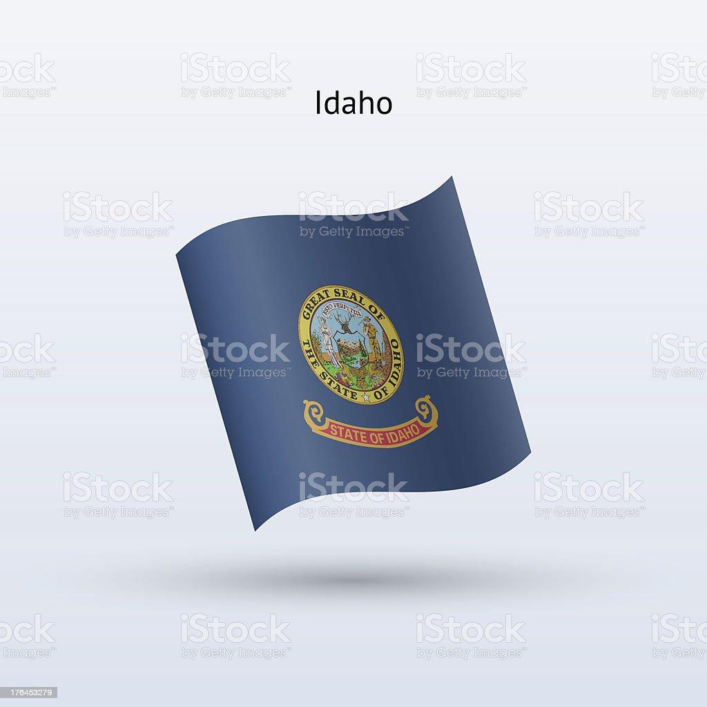 State of Idaho Flag royalty-free stock vector art