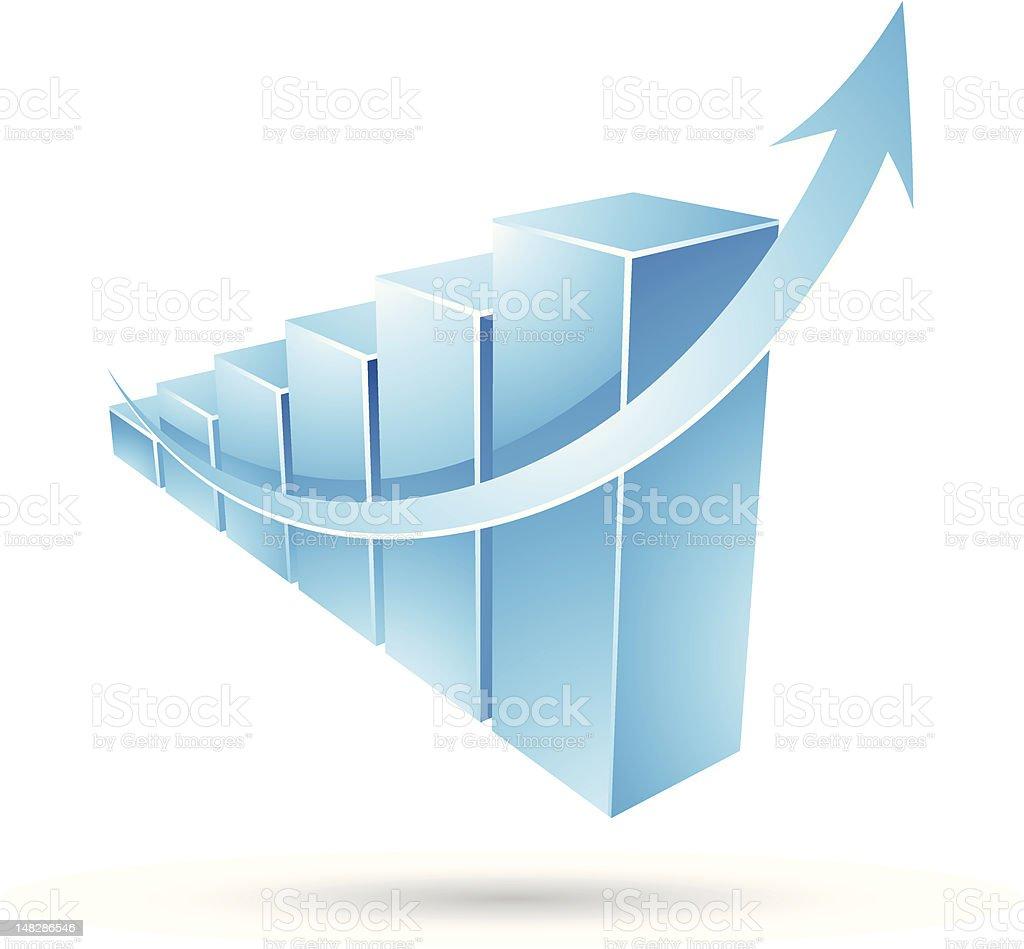 Graphique de statistiques stock vecteur libres de droits libre de droits