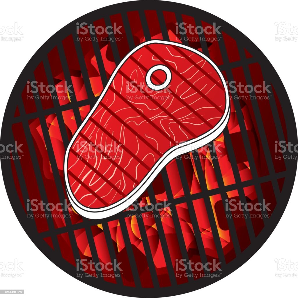 steak grill royalty-free stock photo
