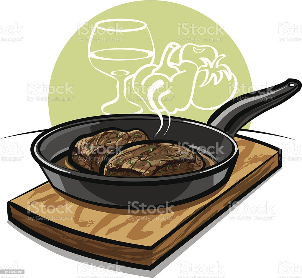 steak royalty-free stock vector art