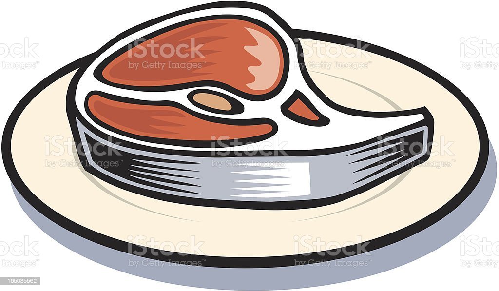 Steak royalty-free stock vector art