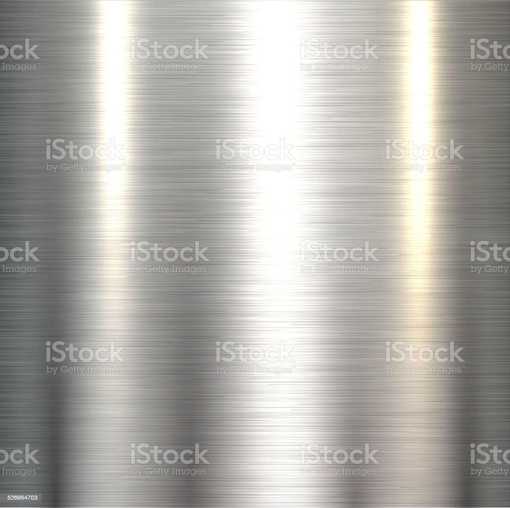 Steel metal background vector art illustration