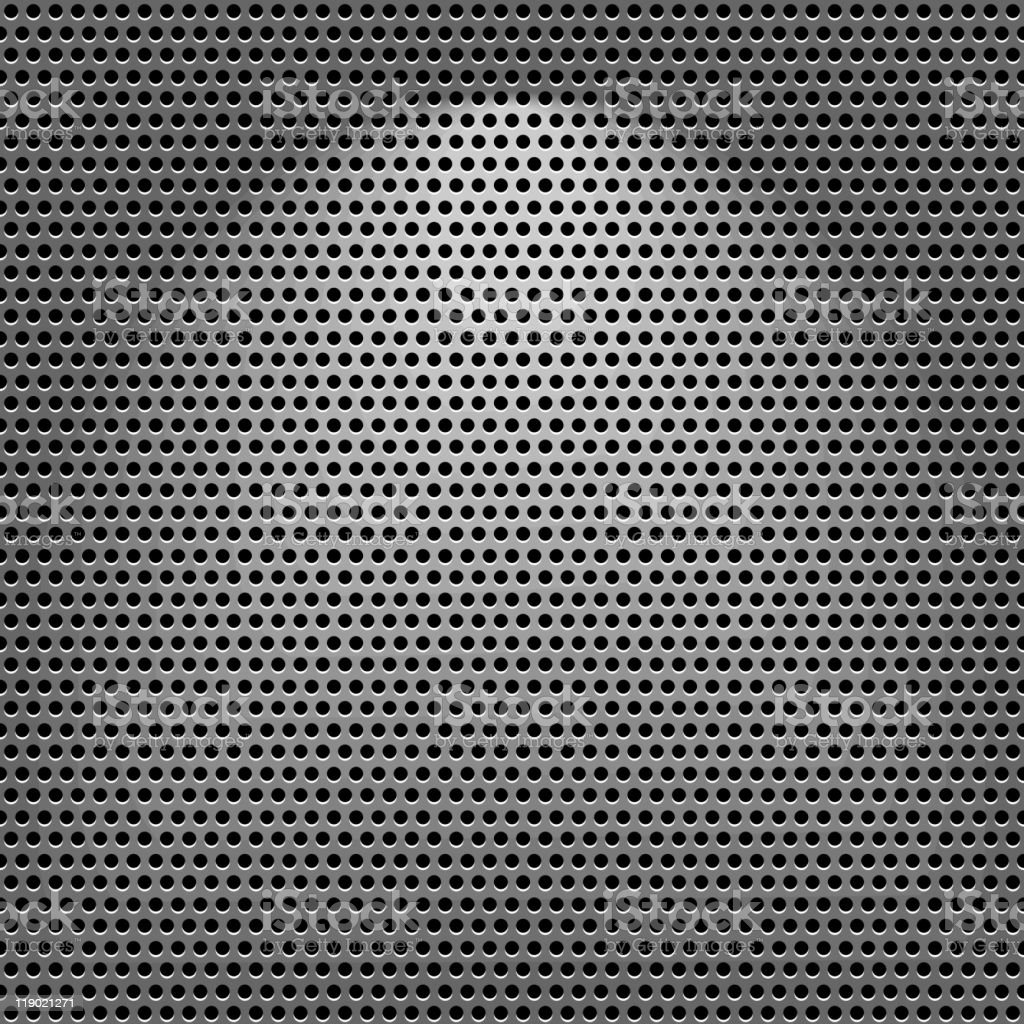 Steel texture vector art illustration