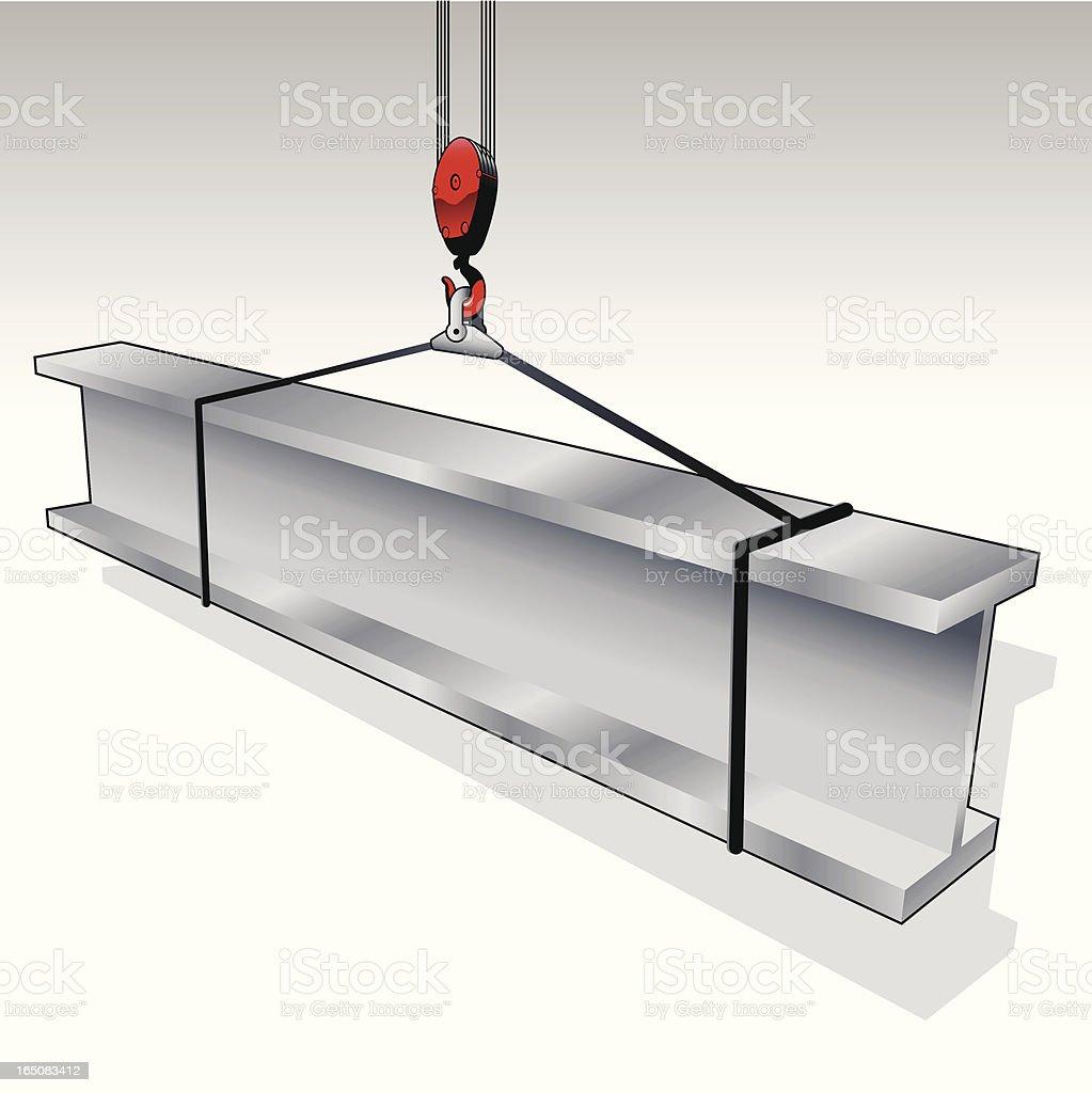 steel_beam royalty-free stock vector art