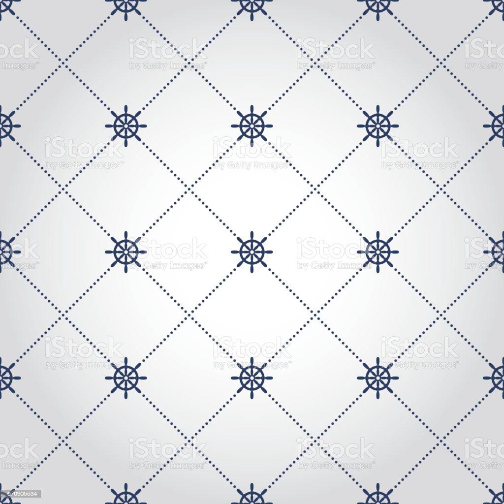 Steering wheel background vector art illustration
