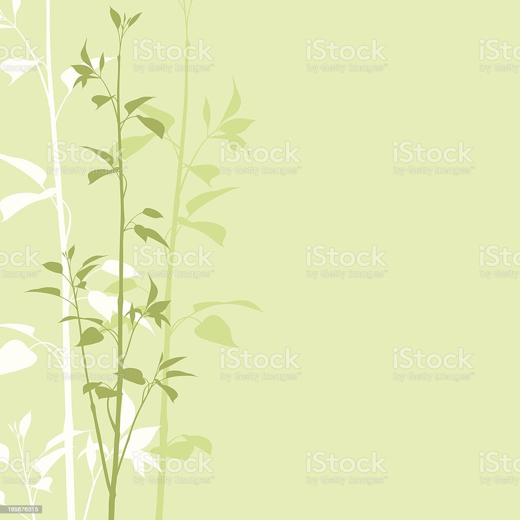 Stems royalty-free stock vector art