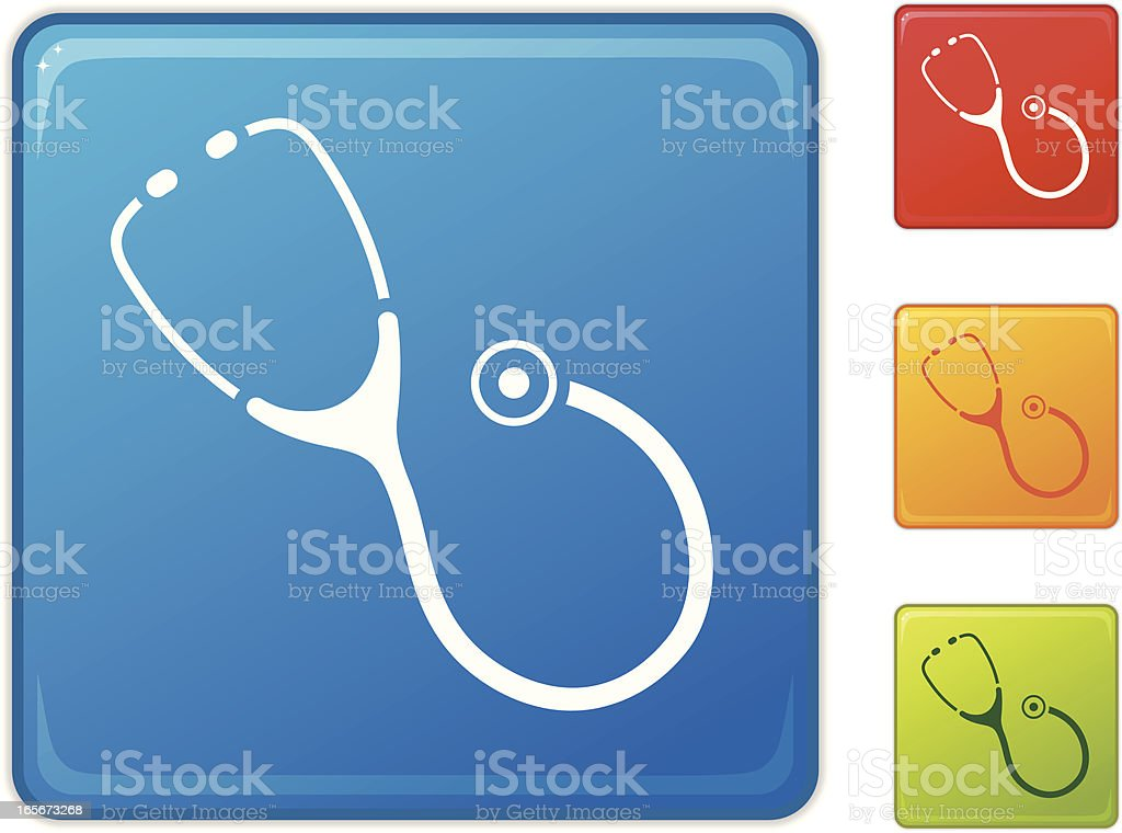 Stethoscope royalty-free stock vector art