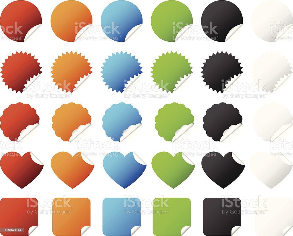 Sticker Badge Vector royalty-free stock vector art