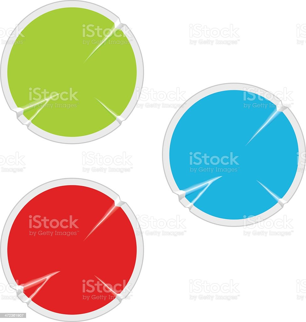 Sticker royalty-free stock vector art