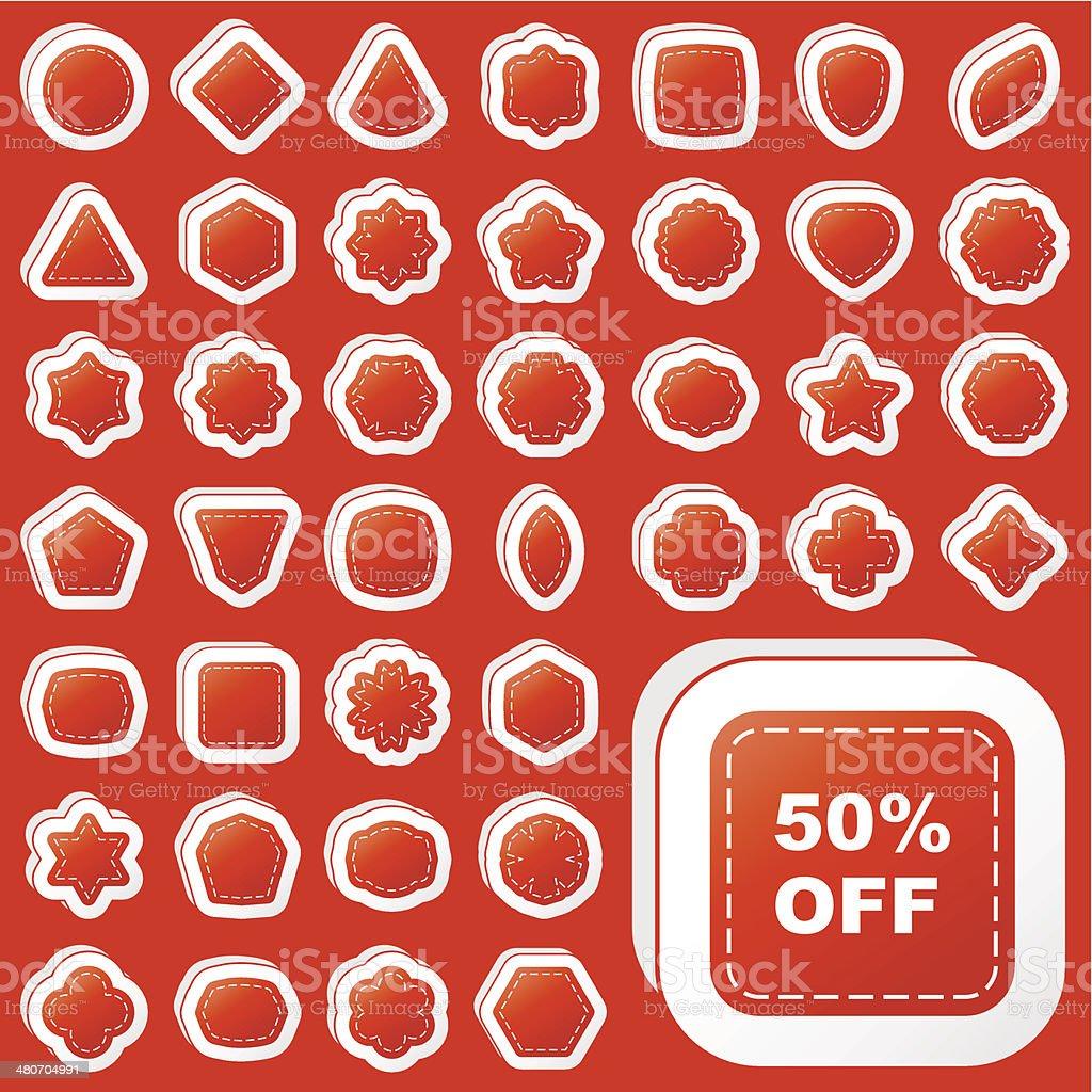 Sticker vector art illustration
