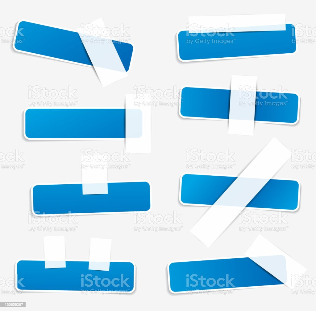 Stickers stock photo