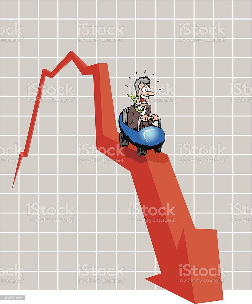 Stock Coaster royalty-free stock vector art