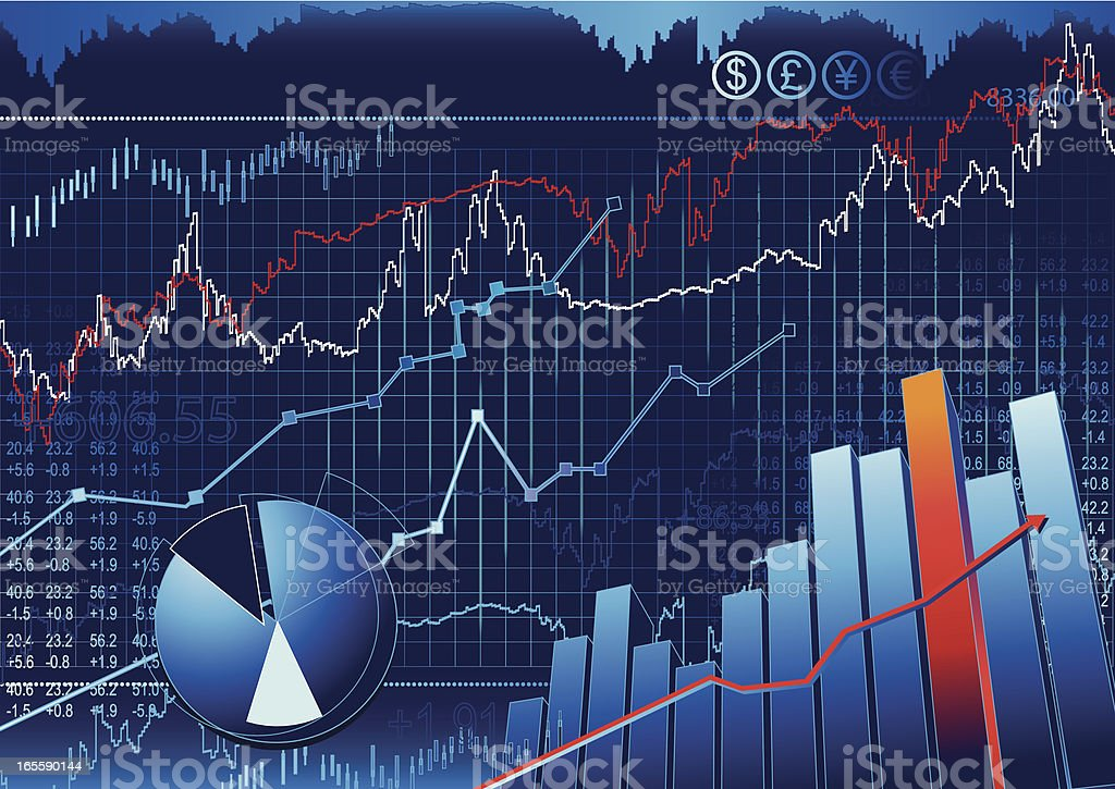 Stock Market royalty-free stock vector art